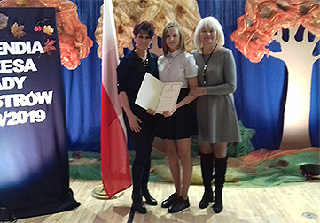 Uczennica ALO stypendystką Prezesa Rady Ministrów