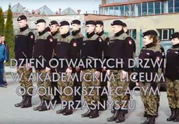 Dzień Otwartych Drzwi w Akademickim Liceum Ogólnokształcącym w Przasnyszu