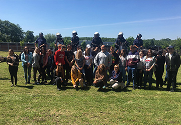 Wycieczka uczniów do Zakładu Kynologii Policyjnej w Sułkowicach