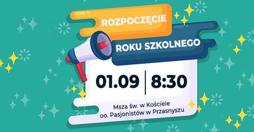 Rozpoczęcie roku szkolnego 2012/2021